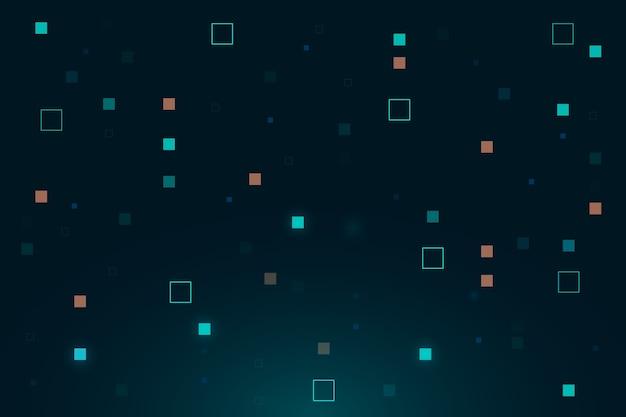 Sfondo astratto pioggia di pixel