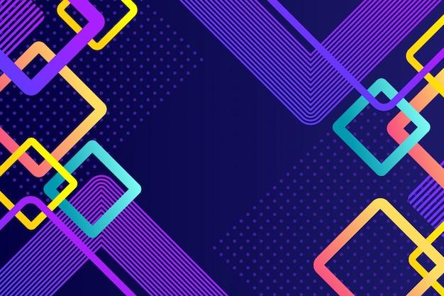 Sfondo astratto quadrati colorati