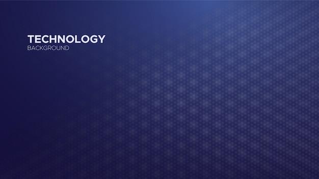 Sfondo astratto tecnologia blu