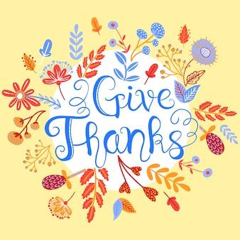 Sfondo autunnale del ringraziamento