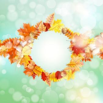 Sfondo autunno concetto.