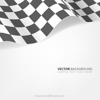 Sfondo bandiera a scacchi