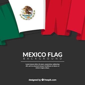Sfondo bandiera del messico