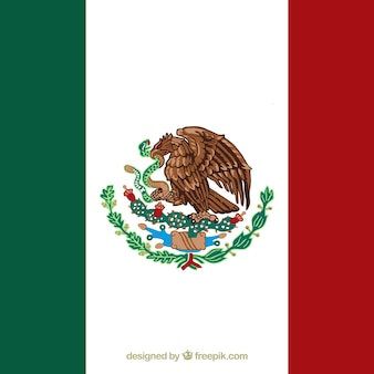 Sfondo bandiera messicana