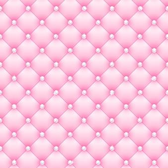 Sfondo bellissimo glamour rosa con diamanti