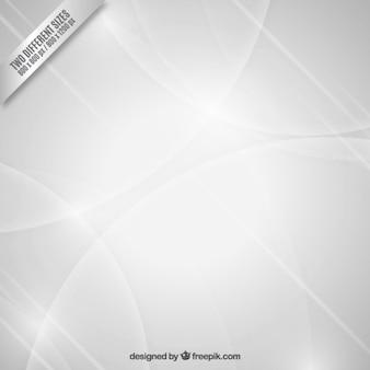 Sfondo bianco astratto con cerchi