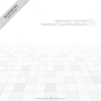 Sfondo bianco astratto prospettiva