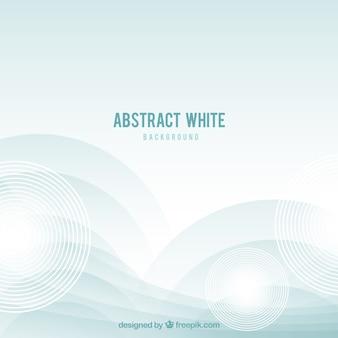 Sfondo bianco con disegno astratto