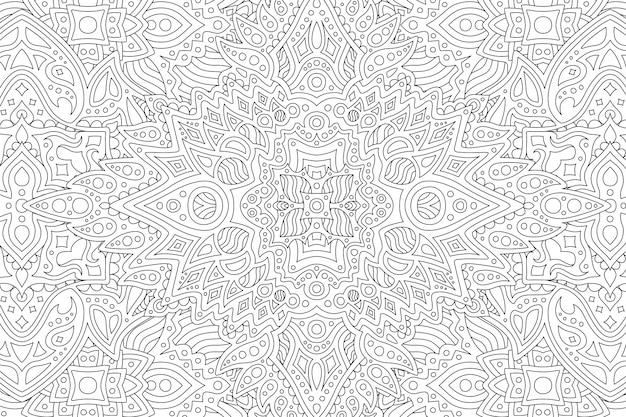 Sfondo bianco e nero con disegno astratto