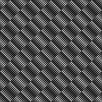 Sfondo bianco e nero motivo geometrico quadrato
