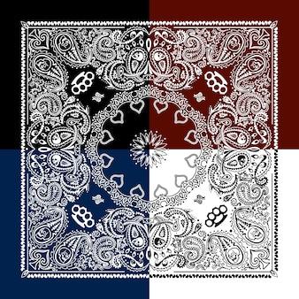 Sfondo bianco pattern