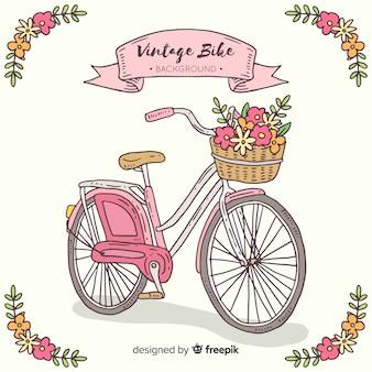 Sfondo bici d'epoca