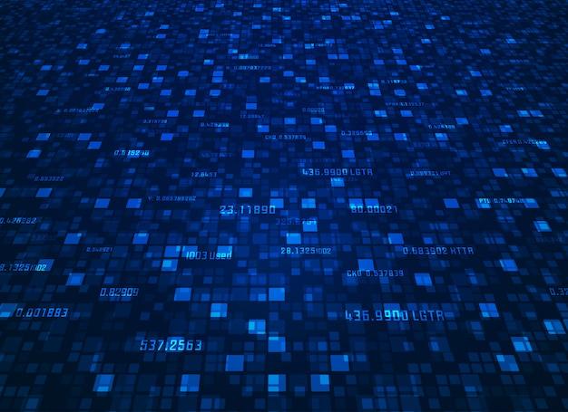 Sfondo big data