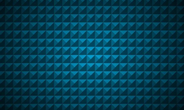 Sfondo blu di lusso con forma a triangolo basso poli.