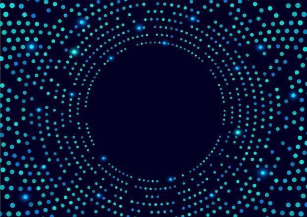 Sfondo blu scuro con macchie