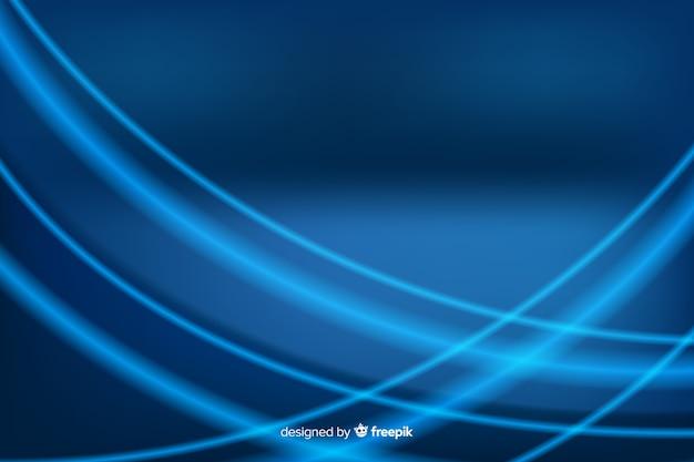 Sfondo blu tecnologia astratta