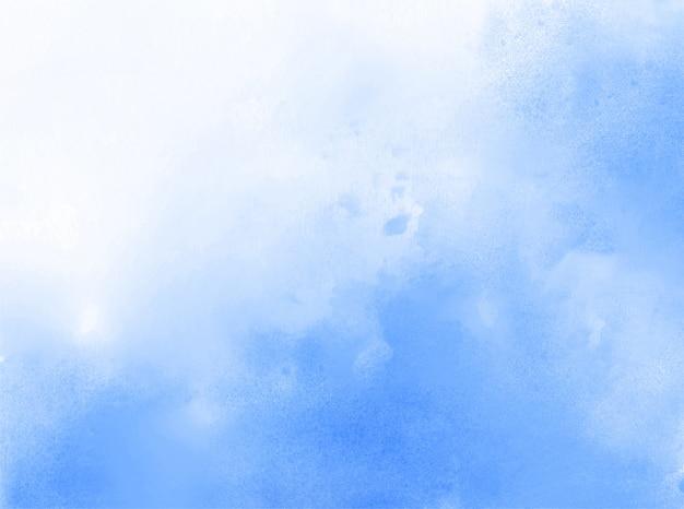 Sfondo blu trama acquerello