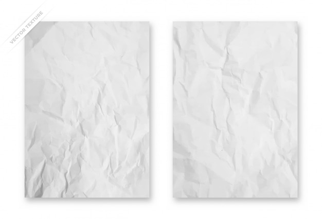 Sfondo carta stropicciata