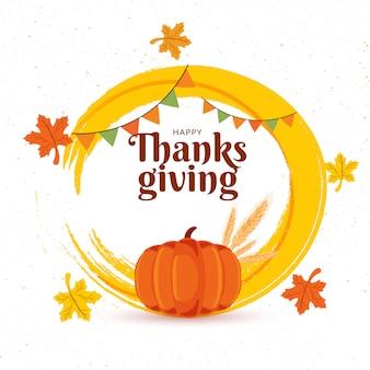 Sfondo celebrazione del ringraziamento.