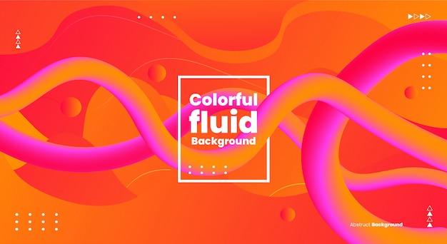 Sfondo colorato astratto forme fluide