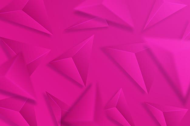 Sfondo colorato con triangoli 3d