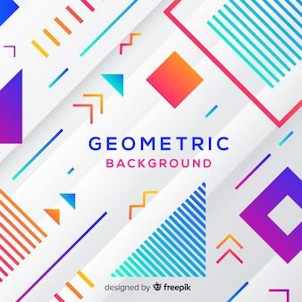 Sfondo colorato geometrico