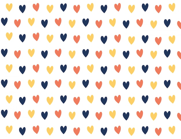 Sfondo colorato mini cuore.