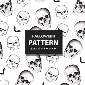 Sfondo colorato modello di halloween