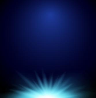 Sfondo con luce intensa