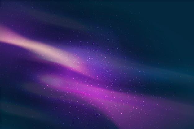 Sfondo con particelle di galassia