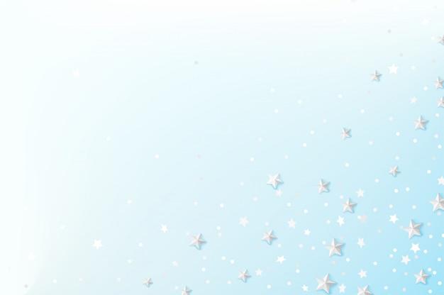 Sfondo con stelle bianche