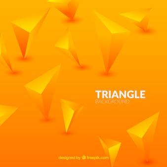 Sfondo con triangoli 3d