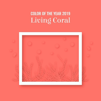 Sfondo corallo vivente