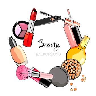 Sfondo cosmetico