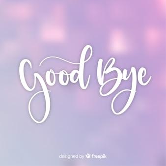 Sfondo d'addio