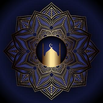 Sfondo decorativo di ramadan kareem