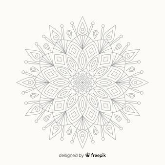 Sfondo decorativo mandala