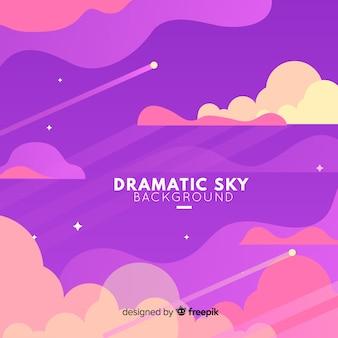Sfondo del cielo drammatico