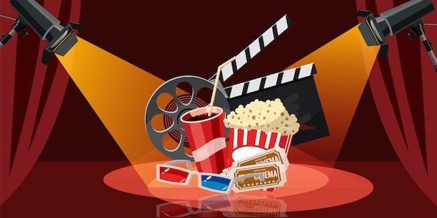 Sfondo del cinema