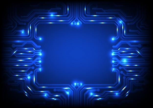 Sfondo del circuito quadrato