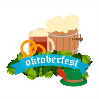 Sfondo del festival dell'oktoberfest