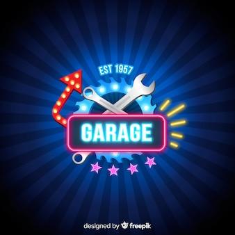 Sfondo del garage