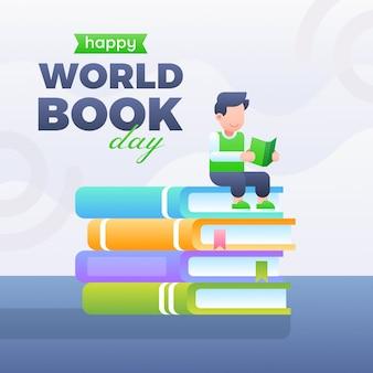 Sfondo del giorno del libro mondiale