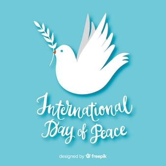 Sfondo del giorno della pace