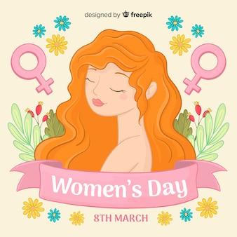 Sfondo del giorno delle donne.