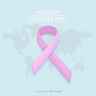 Sfondo del giorno mondiale del cancro
