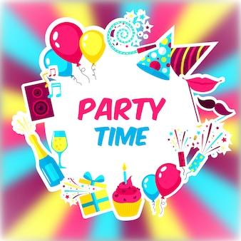 Sfondo del tempo di festa