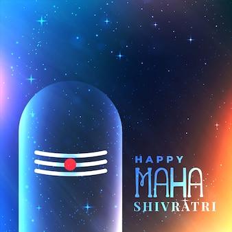 Sfondo dell'universo con lord shiva idol