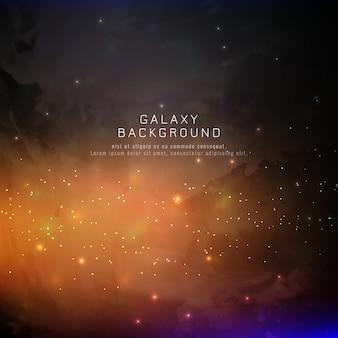 Sfondo della galassia abstarct
