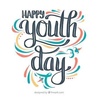Sfondo della giornata della gioventù